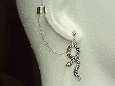 Harry Potter - Snake - Serpent  -  Ear Cuff Clip Chain Dangle Piercing *UK MADE*