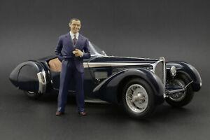 Jean Bugatti Figure pour 1:18 AUTOart 57SC Atlantic Veyron 16.4  !! NO CAR !!