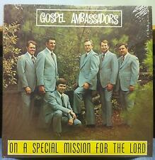 Gospel Ambassadors - On A Special Mission For The Lord LP Mint- TSRC-6567 Vinyl