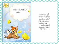 15  Assorted  young childs birthday card verse inserts  A5