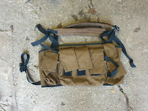 South African Defence Force (SADF) M83 pattern chest rig - fast release straps