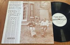Anthony Braxton Derek Bailey Duo 2 1975 Free Jazz LP Emanem 3314