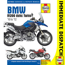 [4925] BMW R1200GS R1200RT R1200R DOHC Twins 2010-12 Haynes Workshop Manual