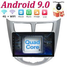 32GB Head unit Android 9.0 For Hyundai Solaris Verna Accent Car Radio GPS NAVI