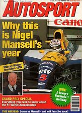 South African GP 1967 - Camel IMSA GT - Autosport Magazine 27 February 1992