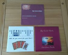 """The Icicle Works Job Lot 3x UK 7"""" Love Is Wonderful Who Do You Here Comes Indie"""