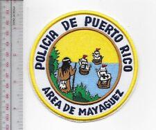 Police Puerto Rico Mayaguez Area Police Department Policia de Puetro Rico