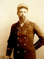 1880s Victorian Cabinet Card Photograph by Garnner & Co. Brooklyn LAYBY AVAIL