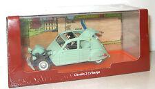 TIM und STRUPPI Citroen 2 CV belge Tintin Modellauto Moulinsart 1/43 Neu (K48)