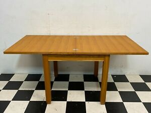 Modern Next Cambridge compact oak fold over extending dining table - Delivery