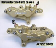 Kawasaki ZX6R A1P (ZX636) front brake calipers refurbished exchange 2001 2002