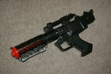Star Wars Black General Grievous Blaster 2004 Hasbro Lights Sounds Cosplay RARE