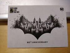 Malaysia 2019 Superhero Batman 80 Years Stamp Post Card blank Long Live the Bat