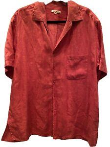 loro piana mens linen button up shirt