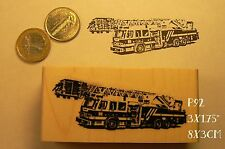 P92 Fire-truck rubber stamp NEW