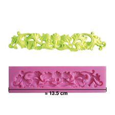 Moule silicone 3D Moulure pour pâte à sucre, cake design, décoration