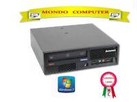 COMPUTER LENOVO SFF  / INTEL CORE 2 DUO E7500 - 2,93 GHZ / WINDOWS 7 PRO LICENZA