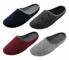 Felt slippers made of pure sheep wool - slippers with non-slip sole - rubber