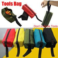 Nylon Repair Tool Bag Small Parts Organize  Zipper Storage Hand Plumber Cases