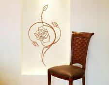 Abstract Rose - Highest Quality Wall Decal Sticker