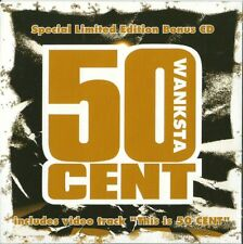 50 Cent. Wanksta (2003) CDSingle NUOVO Special Limited Edition Eminem 8 Mile ost