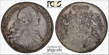 1763 German States Bavaria Silver Thaler  Maximilian III PCGS XF45