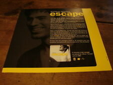 ENRIQUE IGLESIAS ESCAPE!!!!DIF!!!!RARE FRENCH PRESS/KIT