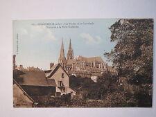 Chartres - Les Flèches de la Cathßedrale - Vue prise à la Porte Guillaume / AK