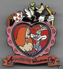Disney Valentines Day JESSICA & ROGER A/P Artist Proof LE1 Pin BLACK