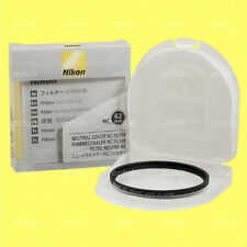 Genuine Nikon 62mm Neutral Color NC Filter Lens Protector Clear Filter NC-62 mm