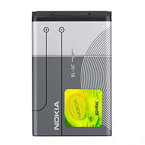 🔋 OEM Replacement Battery 1000mAh 3.7V for Nokia BL-5C BL-5CA BR-5C,NKBF01