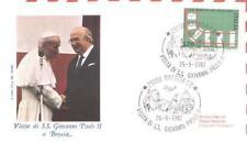 Italia 1982 Jan Paweł II papież John Paul pope papa (82/7+7a)