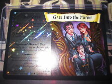 HARRY POTTER TCG QUIDDITCH CUP GAZE INTO THE MIRROR 6/80 RARE FOIL ENGLISH MINT
