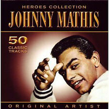 JOHNNY MATHIS ~  50 CLASSIC TRACKS NEW SEALED 2CD SET Early Hits / Best of+ More