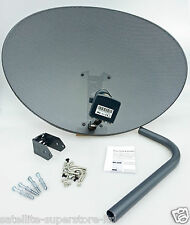 Hotbird 80cm Zone 2 Satellite Dish & Mk4 Quad LNB HD Kit for Freesat Sky PVR