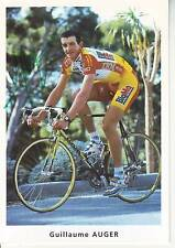 CYCLISME ** carte cycliste GUILLAUME AUGER équipe BIG MAT AUBER 93 signée