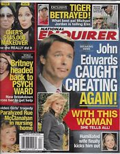 National Enquirer magazine John Edwards Cher Britney Spears Rue McClanahan