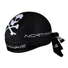 New Black Cycling Bicycle Bike Outdoor Sports Bandana Pirate Hat Cap LW