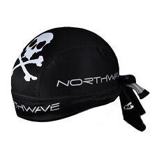 New Black Cycling Bicycle Bike Outdoor Sports Bandana Pirate Hat Cap LW