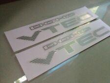 99-00 CIVIC SI DOHC VTEC DECAL jdm em1 oem ex dx b16a2 ek9 sir sticker Illest