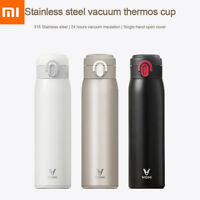 Xiaomi VIOMI 300/460ml Stainless Steel Vacuum Flask Insulated Cup Thermo Bottle