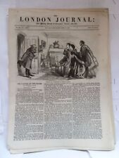 LONDON JOURNAL;WEEKLY RECORD OF LITERATURE,SCIENCE & ART APRIL 17 1858 NEWSPAPER