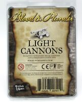 Blood & Plunder FGD0024 Light Cannons (Set of 6) Pirate Ship Guns Firelock Games
