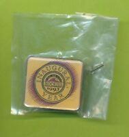 1993 Colorado Rockies Gold Inaugural Year MLB Lapel Pin  Still In Original Bag