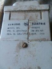 General Electric 240/480V .050Kva Transformer 9T51Y2