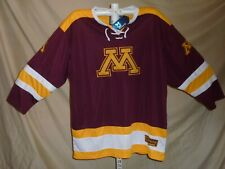 Minnesota Golden Gophers Colosseum embroidered Hockey Jersey size 2Xl Nwt $65