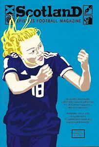 SCOTLAND EPISTLES FOOTBALL MAGAZINE #11 - TARTAN ARMY FANZINE / MAGAZINE