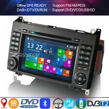 Dab autoradio Bluetooth DVD GPS Mercedes A/b Class W169 W245 Sprinter Vito Viano