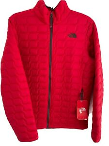 The North Face Thermoball Jacket Coat TNF Red Boys XL (18/20) 🔴NEW🔴