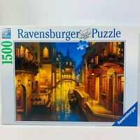 """Ravensburger 1500 Piece Jigsaw Puzzle: """"Waters of Venice"""""""